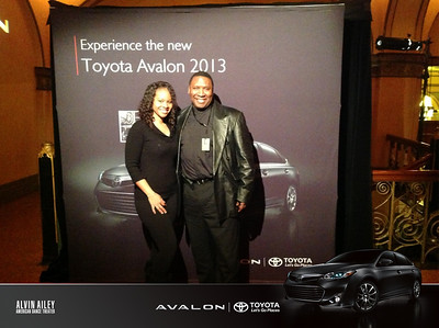 2013-03-17 Alvin Ailey Dance tour sponsored by Toyota Avalon  at Auditorium Theatre of Roosevelt University.