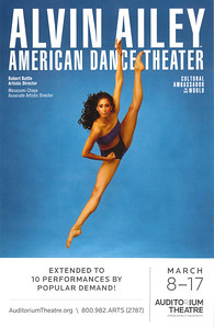 20130317 Alvin Ailey Dance tour stop in Chicago.