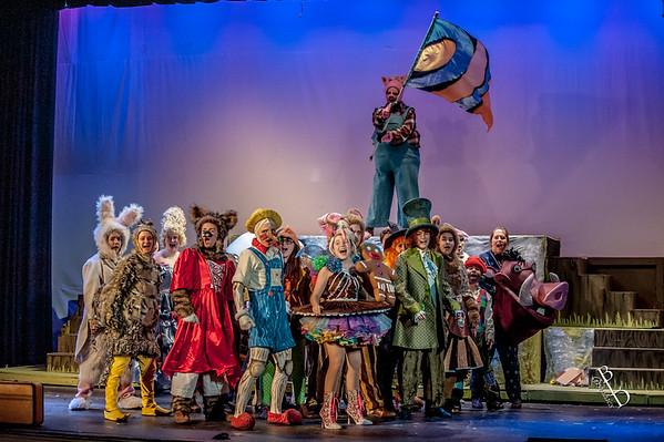 2017 CHS Shrek The Musical - Rehearsal