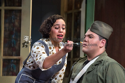4/25/17: Photograph of the Cypress College production of Much Ado About Nothing. Photo jim.mccormack@mac.com