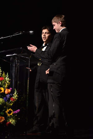 Romeo Cardenas and Zach Miller accept the award for Sound. Photo Credit Mort Shuman