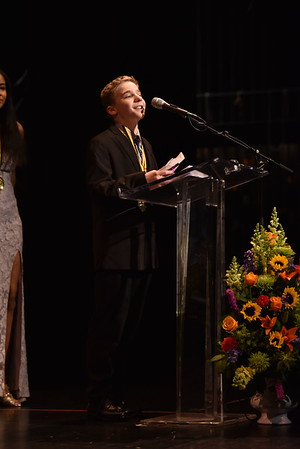 Zachary Lewin accepts the award for Special Effects and/or Technology. Photo Credit: Mort Shuman