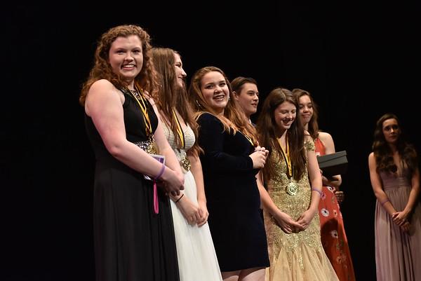 The Annapolis Critics accepts the award for Critic Team. Photo Credit Mort Shuman