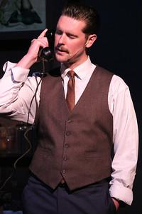 Ryan Scott Foizey as Arthur Compton in New Line Theatre's ATOMIC. Photo credit: Jill Ritter Lindberg.