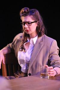 Victoria Valentine in New Line Theatre's ATOMIC. Photo credit: Jill Ritter Lindberg.