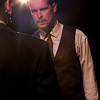 Ryan Scott Foizey as Arthur Compton in New Line Theatre's ATOMIC. Photo credit: Jill Ritter Lindberg.