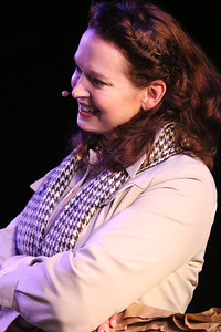 Ann Hier as Trude Weiss in New Line Theatre's ATOMIC. Photo credit: Jill Ritter Lindberg.