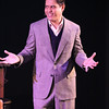 Reynaldo Arceno as Enrico Fermi, in New Line Theatre's ATOMIC. Photo credit: Jill Ritter Lindberg.