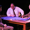 Reynaldo Arceno, Zachary Allen Farmer, and Sean Michael in New Line Theatre's ATOMIC. Photo credit: Jill Ritter Lindberg.