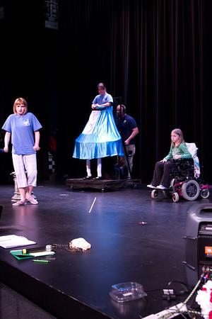 Alice in Wonderland Cast B Tech Week
