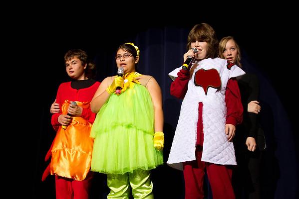 Alice in Wonderland Sunday Performance Cast A