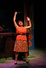 """Kimi Short as One True Love, singing """"Remember Me,"""" in New Line Theatre's """"Bukowsical,"""" 2013. Photo credit: Jill Ritter Lindberg"""