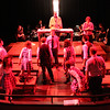 """The cast of New Line Theatre's <i>bare</i> in the opening number, """"Epiphany."""" Photo credit: Jill Ritter"""