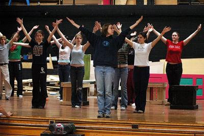 Barnum Rehearse 1