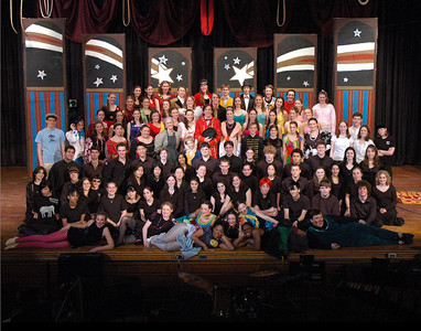 "Barnum Cast and Crew, cropped for 11"" x14"""