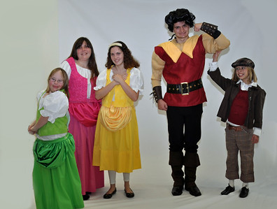 Beauty and the Beast Costume Shots
