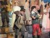 Jacob as Lafou, James as Gaston