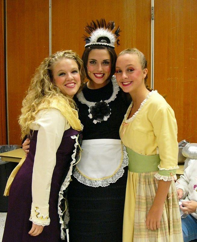 Leslie, Sandy, Lindsey