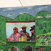 Glover, VT has a town story, which is reenacted by B+P with puppets and costumes each year on Glover Day.