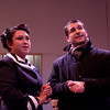David (Jon Reimer), and Conception (Ghiselle Camacho) discuss the weather.<br /> <br /> Photo by Suzy Walker