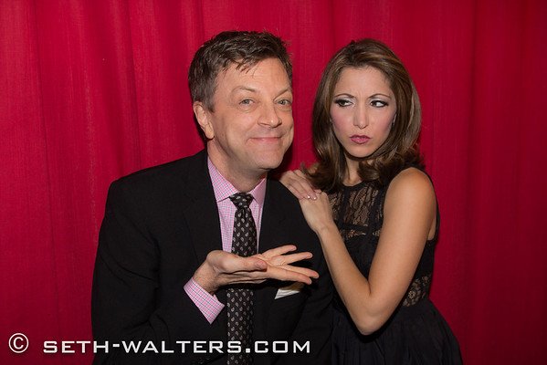 Christina Bianco and Cast Party 2-10-14