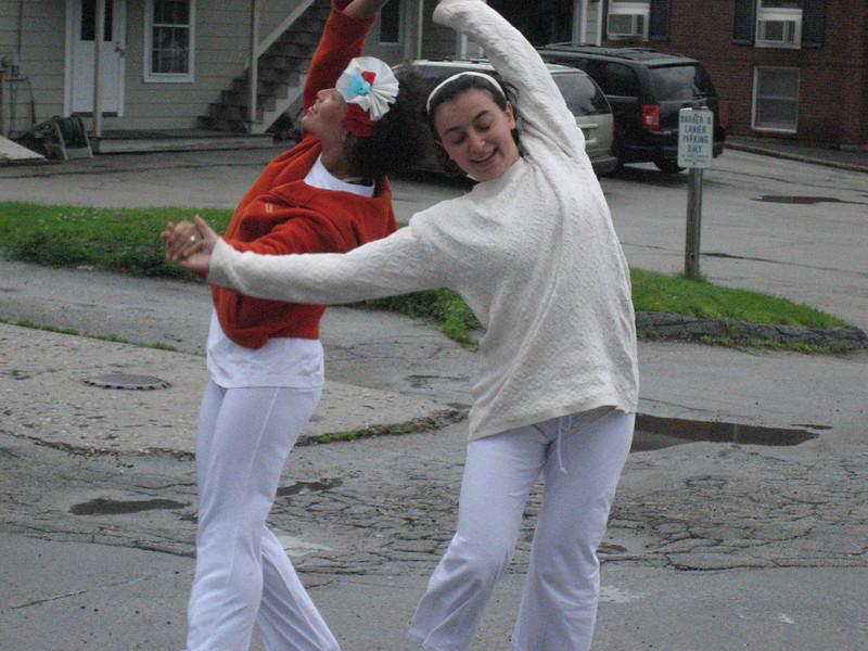A Canadian and a Taiwanese do a Polish dance in Vermont.