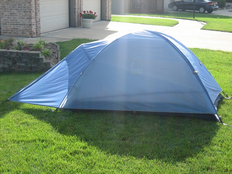 My tent (on my lawn in Indiana)