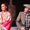 """Angel (Larissa White) and Orphan (Sean Michael) sing """"I'm Glad to See You've Got What You Want"""" in CELEBRATION, New Line Theatre, 2016. Photo credit: Jill Ritter Lindberg."""
