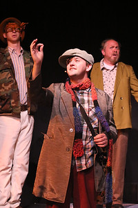 Orphan (Sean Michael, center) shows the power of the sun in a seed, in CELEBRATION, New Line Theatre, 2016. Photo credit: Jill Ritter Lindberg.