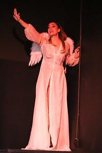 Larissa White as Angel in CELEBRATION, New Line Theatre, 2016. Photo credit: Jill Ritter Lindberg.