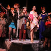 """The cast sings """"My Garden,"""" in CELEBRATION, New Line Theatre, 2016. Photo credit: Jill Ritter Lindberg."""