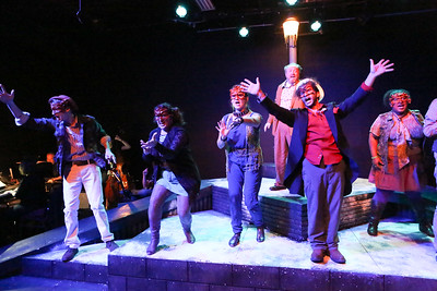 The title song of CELEBRATION, New Line Theatre, 2016. Photo credit: Jill Ritter Lindberg.