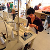 "Jackie Kreiger sews a costume on Wednesday at the University of Colorado Theater costume shop.<br /> For a video of the costume shop, go to  <a href=""http://www.dailycamera.com"">http://www.dailycamera.com</a><br /> Cliff Grassmick / October 18, 2011"
