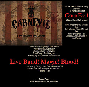 CarnEvil - A Gothic Horror Rock Musical