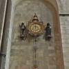 Transept clock
