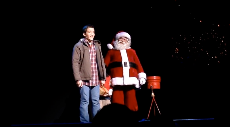 Daniel Radio City Christmas Spectacular 2013