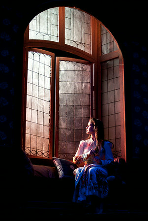 A photo from the Stage Door production at ECU Theater.