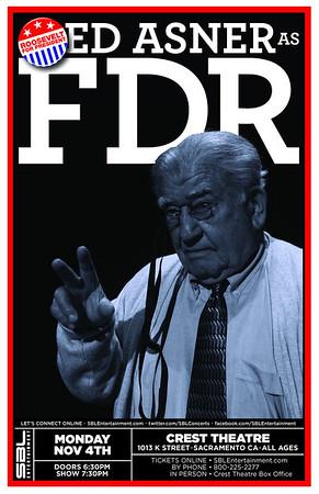 ED ASNER as F.D.R.