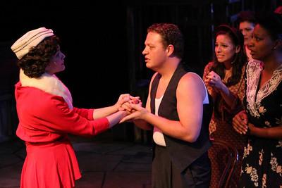 New Line Theatre's EVITA. Photo credit: Jill Ritter