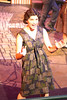 Taylor Pietz as the young Eva Duarte in New Line Theatre's EVITA. Photo credit: Jill Ritter