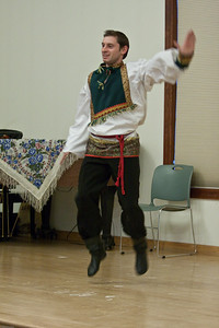 Barynya Entertainment Ensemble Performs Russian Folk Music and Dance at Ridgewood Public Library on 11/29/2009