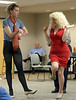 "Bob Raines--Montgomery Media / Everybody's Theater Co. rehearses for ""Murder in the Bingo Hall"" May 25, 2015."