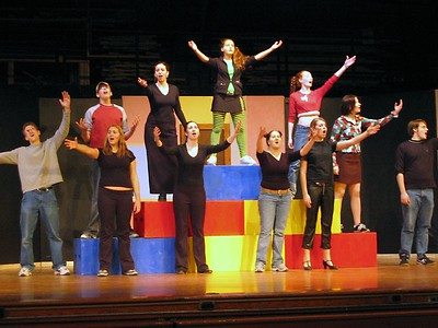 "Godspell ""Behind the Scenes"""
