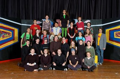 0001 Official Cast Photo, Godspell!