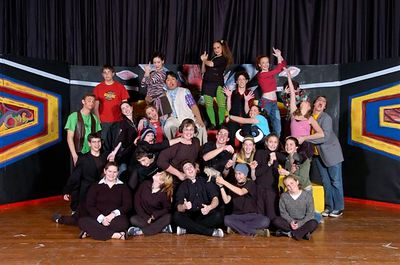 0002 Unofficial Cast Photo, Godspell
