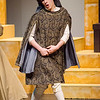 Logan Miles as Prince Dauntless performs a scene in the Fitchburg High performance of 'Once Upon a Mattress' on Saturday afternoon. SENTINEL & ENTERPRISE / Ashley Green