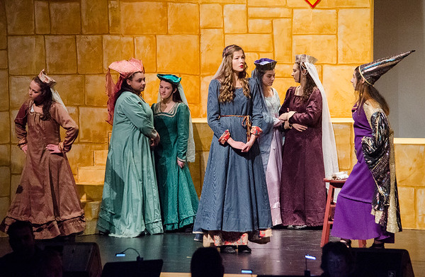 FHS theatre co. 'Once Upon a Mattress'