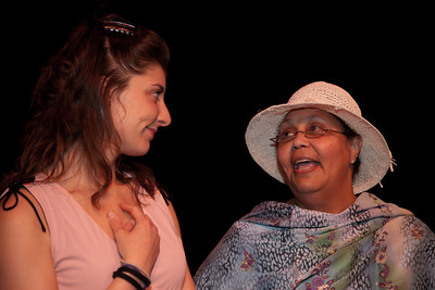 Elise Edwards as Betty and AliceAnna Schumacher as Mother Dale
