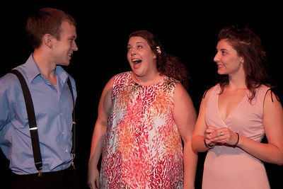 Elise Edwards as Betty, Caitlin McCormick as June and Trey Ervine as Billy