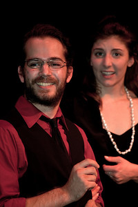 Elise Edwards as Betty and Thomas Linn as Vincent
